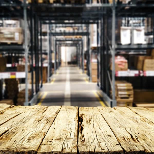 espace de stockage libéré suite à la vente de produits de plomberie en destockage