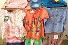Lot vetements textile femme