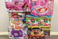 Palettes de jouets enfant